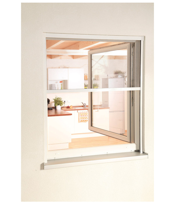 Hecht rollobausatz fenster smart 160x160 cm dehner for Fenster schnelle lieferung
