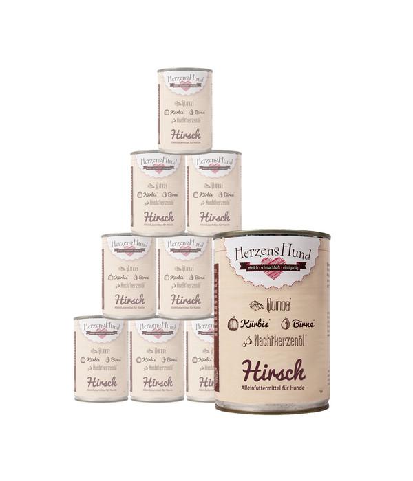 Hirsch & Quinoa & Kürbis & Birne & Nachtkerzenöl