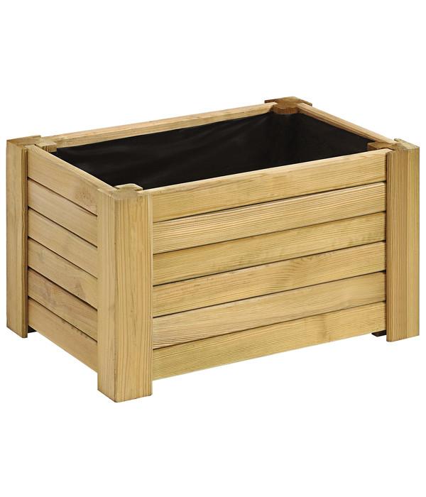 holz blumenkasten golo eckig dehner. Black Bedroom Furniture Sets. Home Design Ideas