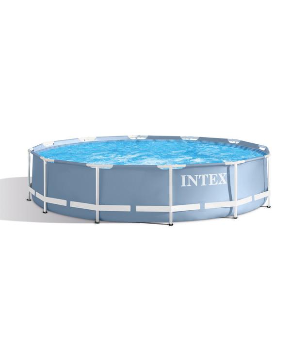 intex frame pool set prism rondo 457 x 107 cm dehner. Black Bedroom Furniture Sets. Home Design Ideas
