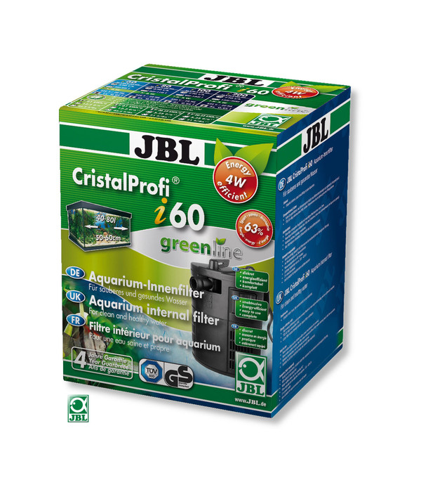 Jbl aquarium innenfilter cristalprofi i60 greenline dehner for Jbl aquarium