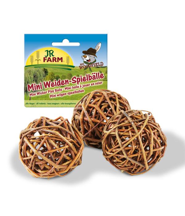 jr farm mini weiden spielball 3 st ck dehner. Black Bedroom Furniture Sets. Home Design Ideas