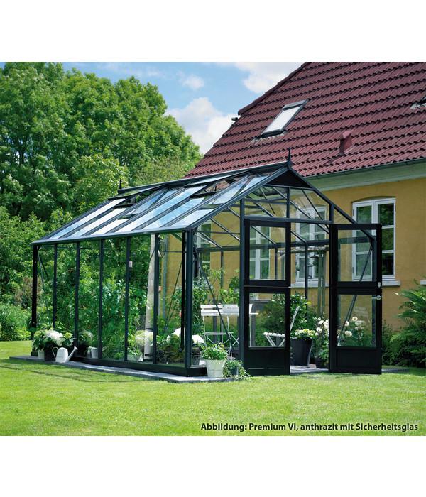 Juliana Gewachshaus Premium Iv 296 X 296 Cm Dehner