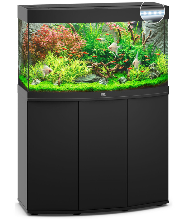 juwel aquarium kombination vision 180 led dehner. Black Bedroom Furniture Sets. Home Design Ideas