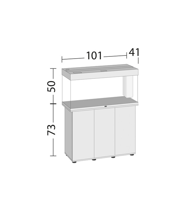 juwel aquarium rio 180 led dehner. Black Bedroom Furniture Sets. Home Design Ideas