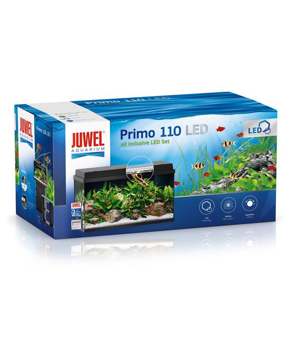 juwel primo 110 led aquarium set schwarz dehner. Black Bedroom Furniture Sets. Home Design Ideas