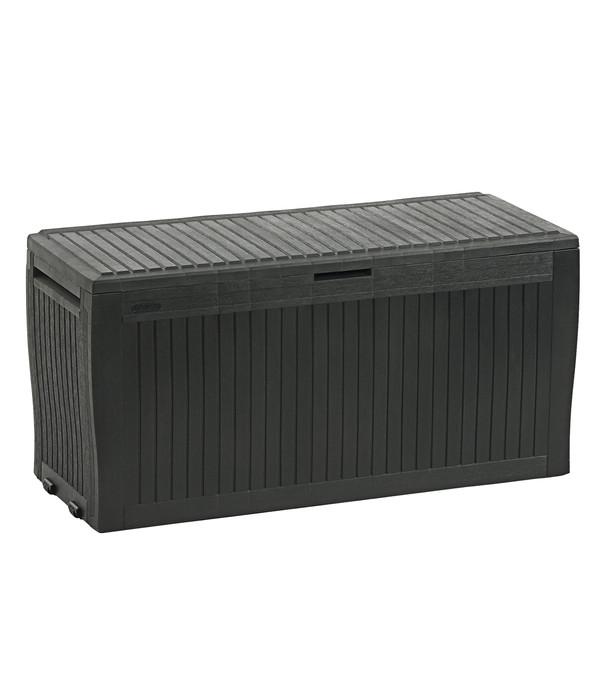 Keter aufbewahrungsbox comfy 116 7 x 44 7 x 57 cm dehner for Garten spielzeug