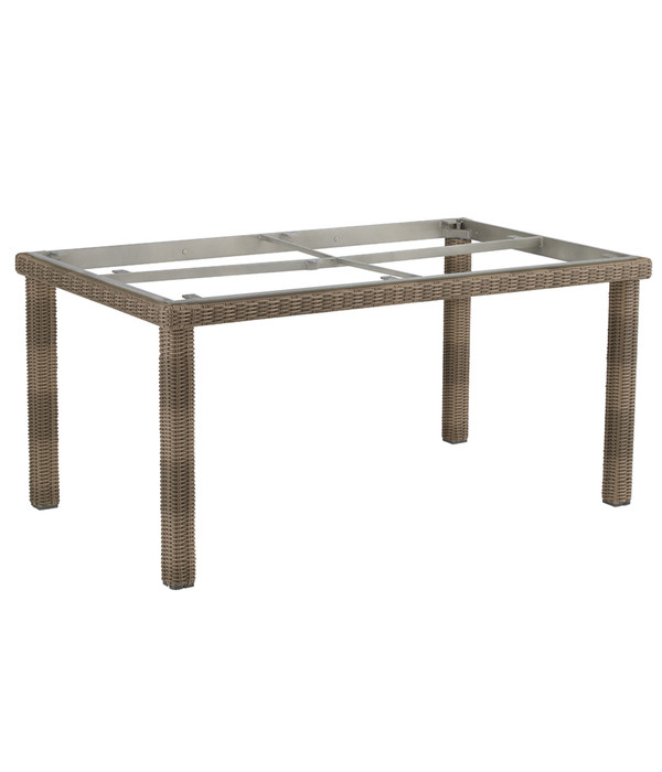 Kettler Gartentisch 160x95.Kettler Hks Geflecht Tischgestell Cubic 160 X 95 X 72 Cm