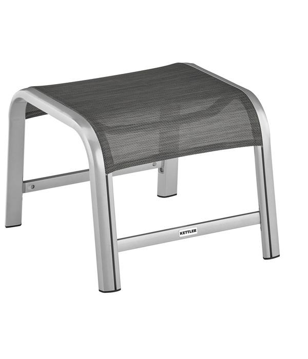 kettler hks hocker forma ii silber graphit dehner. Black Bedroom Furniture Sets. Home Design Ideas