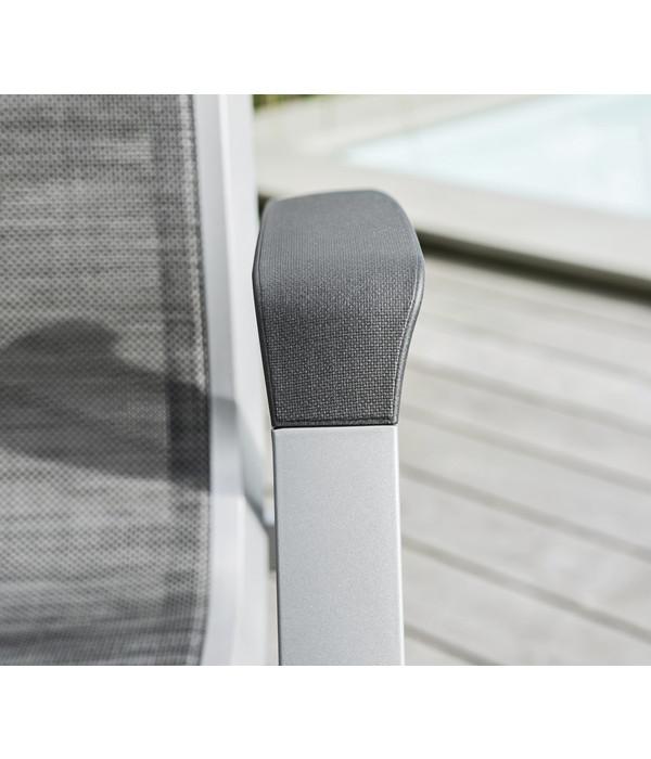 Kettler HKS Stapelsessel Forma II, silber/graphit | Dehner