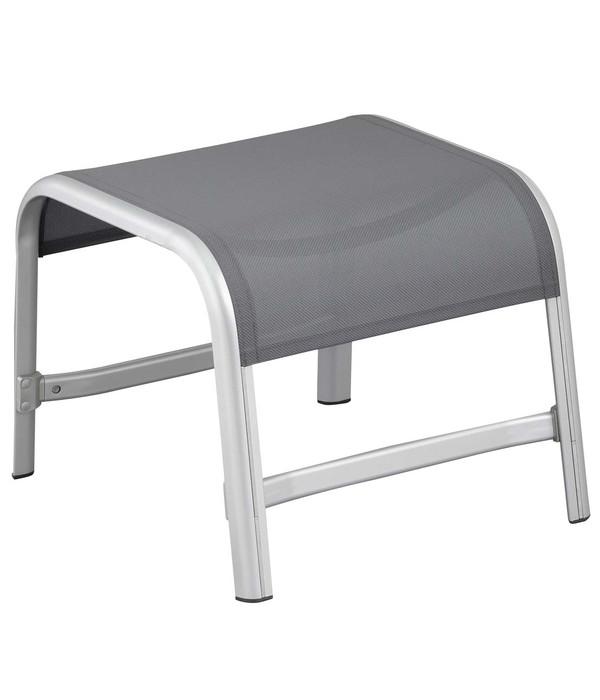 kettler hocker liane silber anthrazit dehner. Black Bedroom Furniture Sets. Home Design Ideas