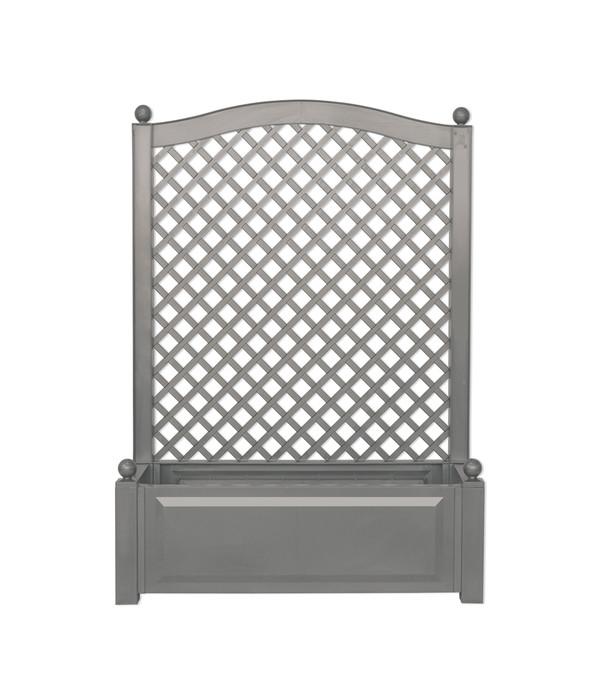 KHW Kunststoff-Pflanzkasten mit Spalier, 100 x 43 x 140 cm | Dehner