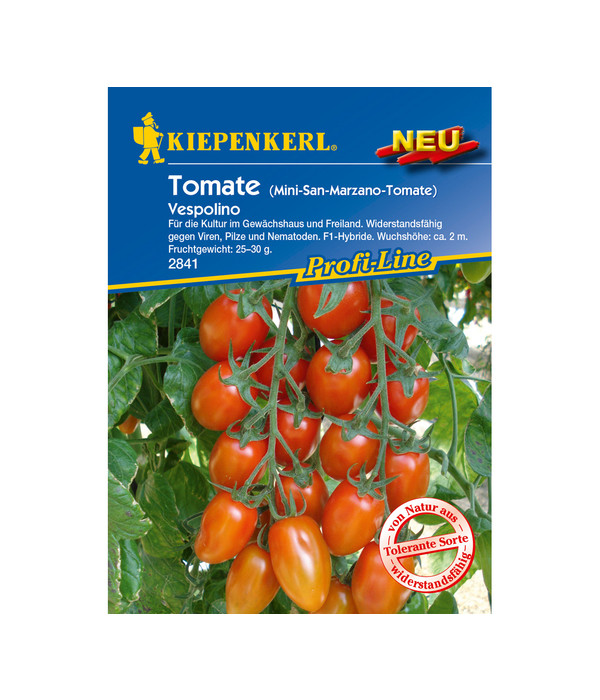 kiepenkerl saatgut tomate 39 vespolino 39 dehner. Black Bedroom Furniture Sets. Home Design Ideas