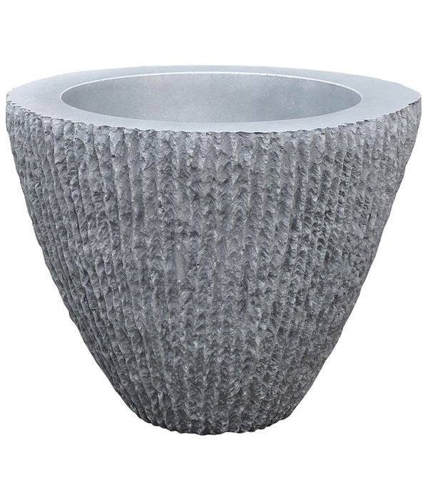kunststoff blumentopf samba konisch 62 cm grau dehner. Black Bedroom Furniture Sets. Home Design Ideas