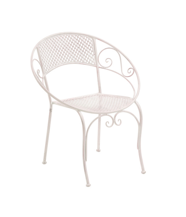 metall stuhl provence ca 65 5 x 57 x 76 cm dehner. Black Bedroom Furniture Sets. Home Design Ideas