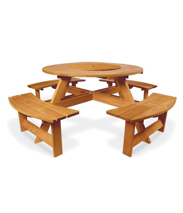 picknicktisch mit b nken dehner. Black Bedroom Furniture Sets. Home Design Ideas