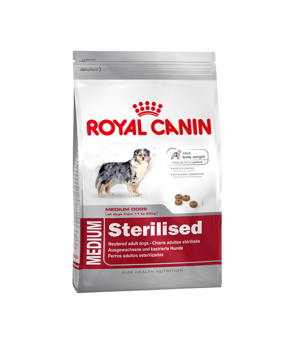 royal canin medium sterilised trockenfutter dehner. Black Bedroom Furniture Sets. Home Design Ideas