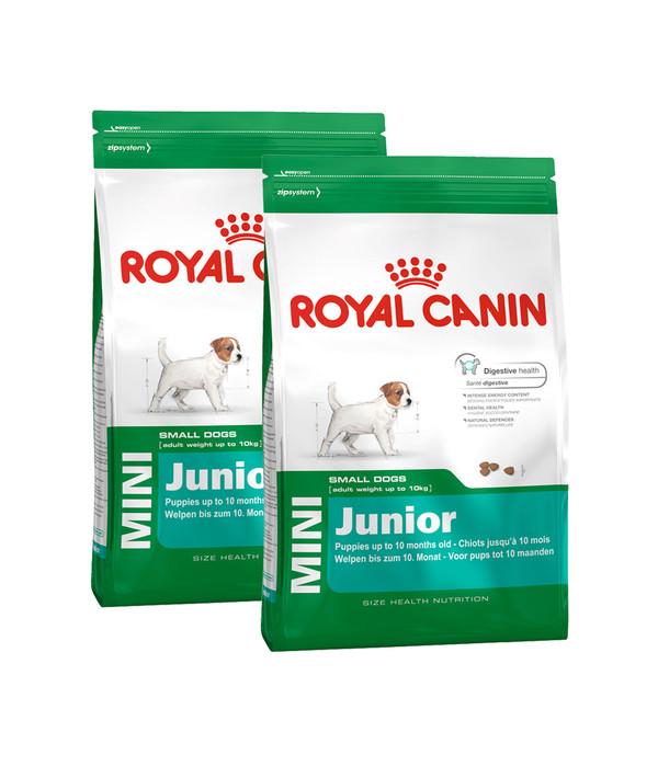 royal canin mini junior trockenfutter dehner. Black Bedroom Furniture Sets. Home Design Ideas