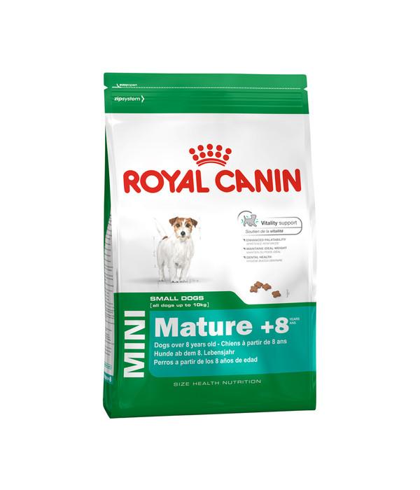 royal canin mini mature 8 trockenfutter dehner. Black Bedroom Furniture Sets. Home Design Ideas