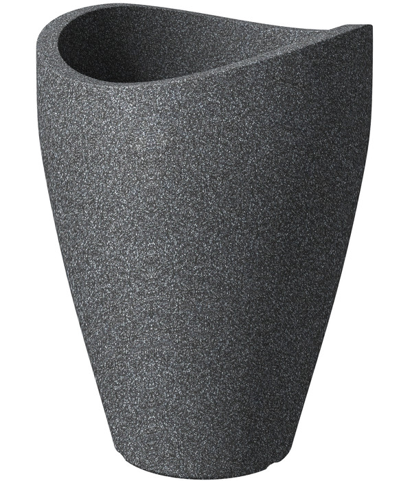 3,5 cm hoch Granite Grey Scheurich Untersetzer aus Kunststoff 24 cm Durchmesser