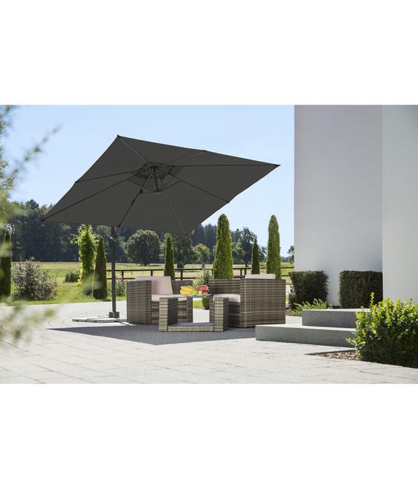 schneider ampelschirm rhodos junior 270 x 270 cm dehner. Black Bedroom Furniture Sets. Home Design Ideas