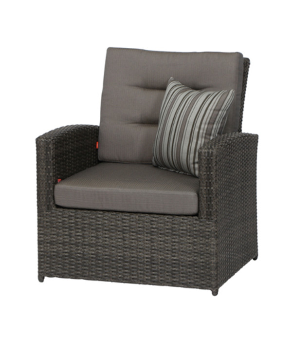siena garden lounge sessel porto grau dehner. Black Bedroom Furniture Sets. Home Design Ideas