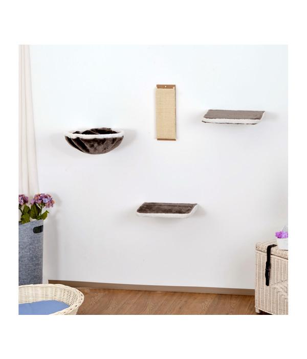 silvio design katzen kletterwand 4 teilig dehner. Black Bedroom Furniture Sets. Home Design Ideas