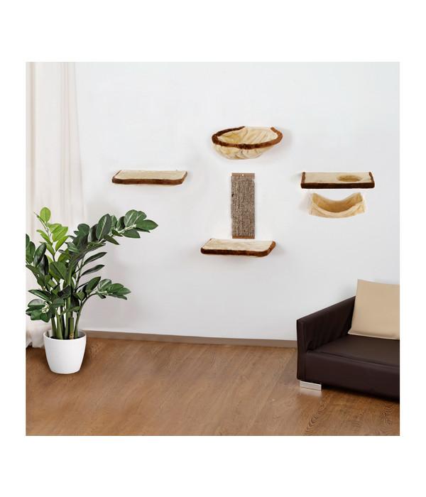 silvio design katzen kletterwand 6 teilig dehner. Black Bedroom Furniture Sets. Home Design Ideas