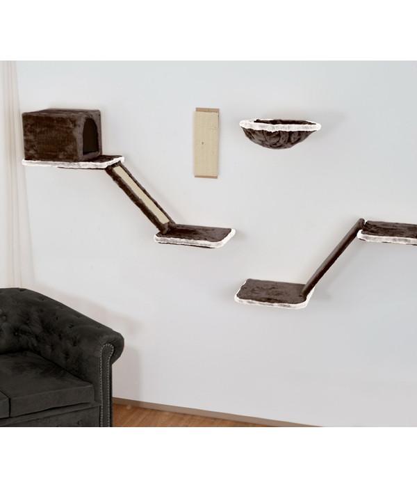 silvio design katzen kletterwand 8 teilig dehner. Black Bedroom Furniture Sets. Home Design Ideas