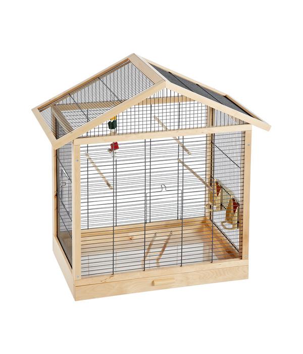 skyline vogelhaus antonia schwarz natur dehner. Black Bedroom Furniture Sets. Home Design Ideas