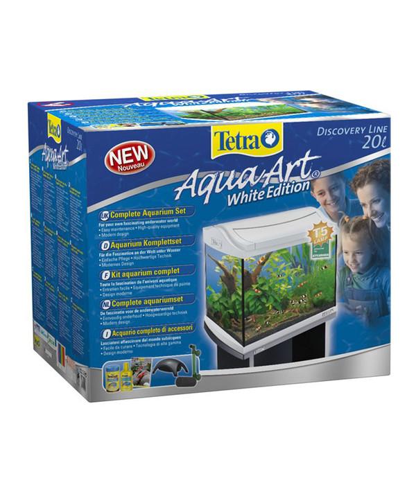 tetra aquaart aquarium set 20 l wei dehner. Black Bedroom Furniture Sets. Home Design Ideas