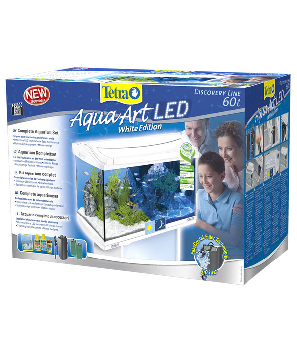 tetra aquaart led aquarium set 60 liter dehner. Black Bedroom Furniture Sets. Home Design Ideas