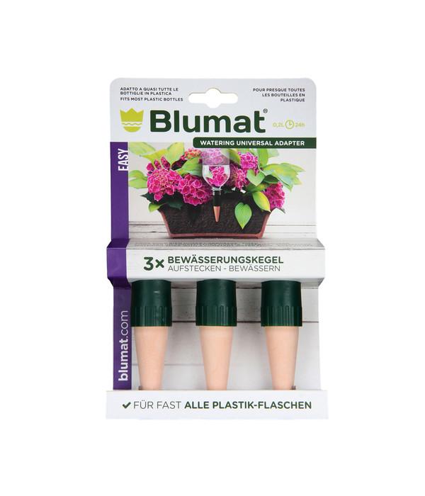 Tropf-Blumat Flaschenadapter mit Tonkegel für Topfpflanzen, 3 Stk ...