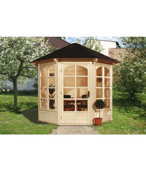 weka 8 eck pavillon 234 a dehner. Black Bedroom Furniture Sets. Home Design Ideas