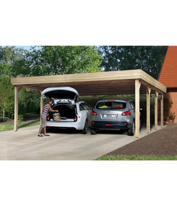Carport Für 2 Autos: Weka Doppelcarport 609 Gr. 1, 604 X 621 Cm