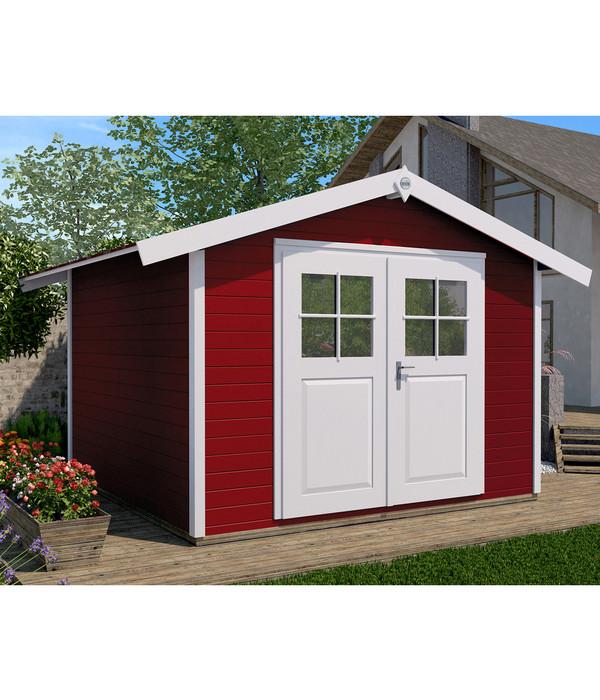 weka gartenhaus 122 gr 2 dehner. Black Bedroom Furniture Sets. Home Design Ideas
