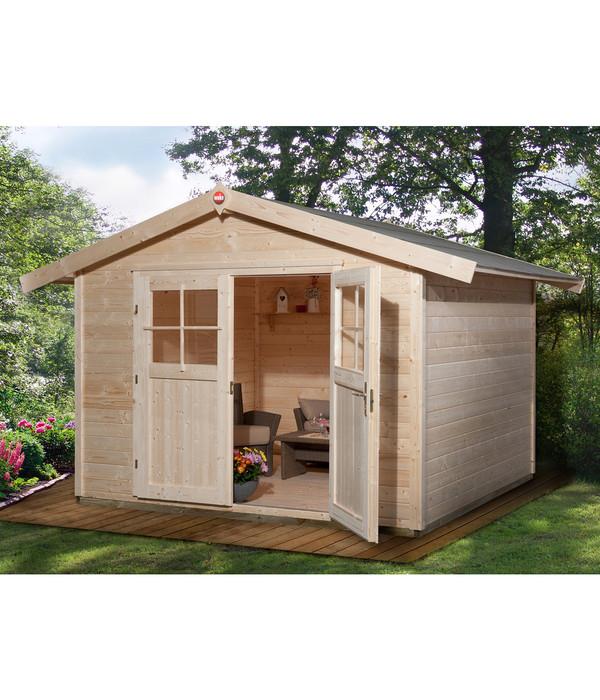 weka gartenhaus 122 gr 3 natur dehner. Black Bedroom Furniture Sets. Home Design Ideas