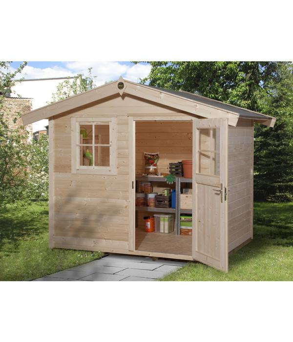 weka gartenhaus 123 gr 1 dehner. Black Bedroom Furniture Sets. Home Design Ideas