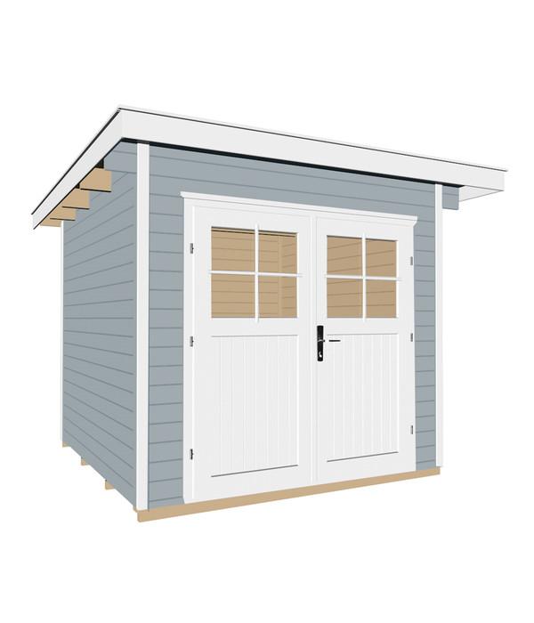 weka gartenhaus 179 dehner. Black Bedroom Furniture Sets. Home Design Ideas