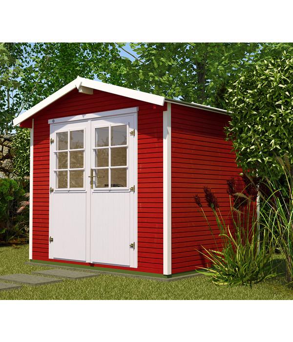 weka gartenhaus 218 gr 3 dehner. Black Bedroom Furniture Sets. Home Design Ideas