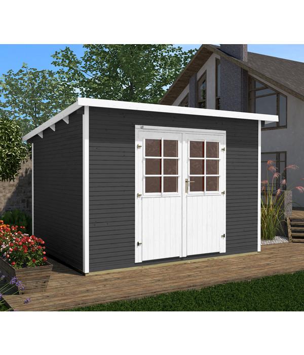 weka gartenhaus 219 gr 1 dehner. Black Bedroom Furniture Sets. Home Design Ideas