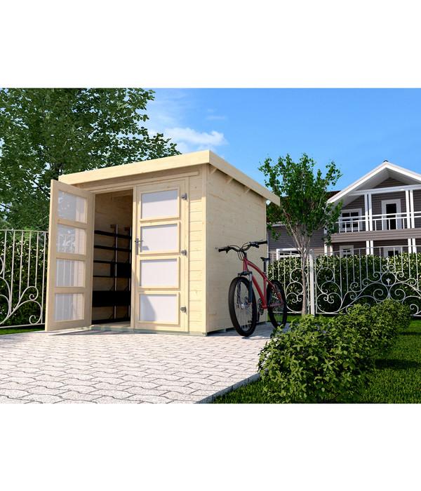 weka gartenhaus 321 dehner. Black Bedroom Furniture Sets. Home Design Ideas