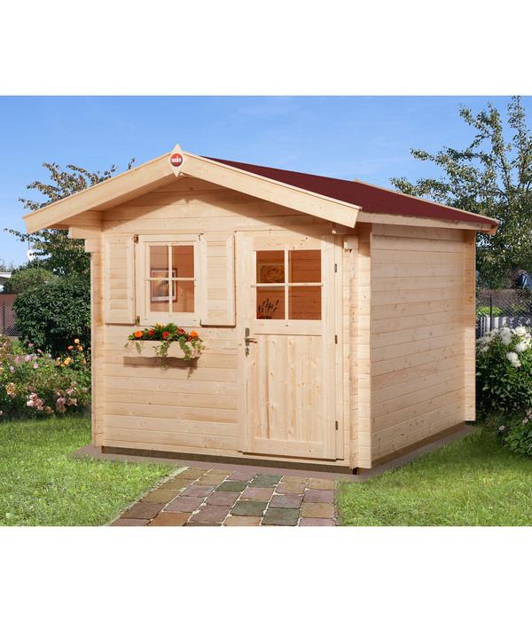 weka gartenhaus premium 28 dehner. Black Bedroom Furniture Sets. Home Design Ideas