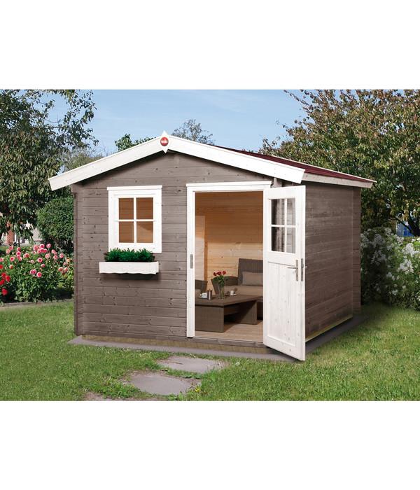 Garten Center Dehner: Weka Gartenhaus Premium 28FT + Vordach 20 Cm