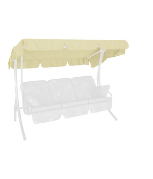 angerer hollywoodschaukel comfort style beige 3 sitzer dehner. Black Bedroom Furniture Sets. Home Design Ideas