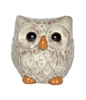Dehner Keramik Eule, 20 X 18 X 20 Cm