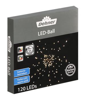 Außergewöhnlich Dehner LED Ball, Warmweiß, 120 Lichter