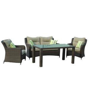 Weitere Varianten Dehner Loungegruppe Toska 4 Teilig