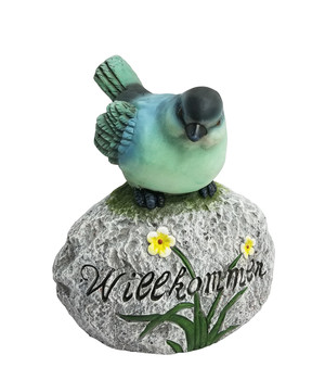 Deko Frosch Zement Beton Gartenfigur Deko Yoga Gartenfrosch Geschenkidee NEU