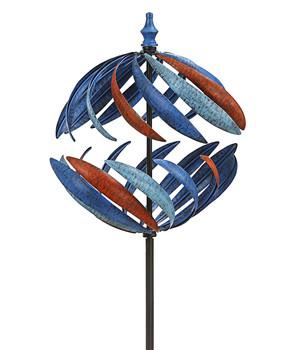 /Ø 30 cm Dehner Solarkugel Echtglas-Optik